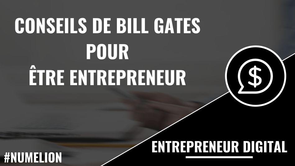 Conseils de Belli Gates pour être entrepreneur